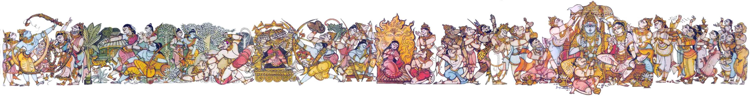 an analysis of the characters of nortons version of valmikis ramayana